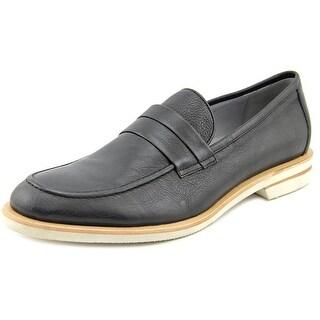 Calvin Klein Yurik Apron Toe Synthetic Loafer
