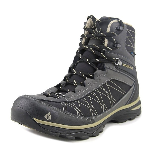 Vasque Coldspark Ultradry Men Round Toe Synthetic Black Hiking Boot