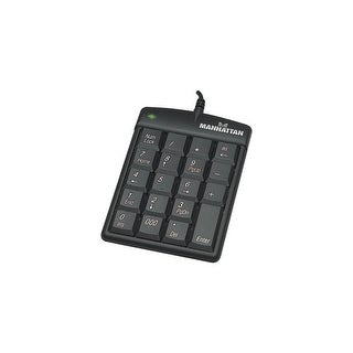 Manhattan Products 176354B Manhattan USB Numeric Keypad with 19 Full-size keys