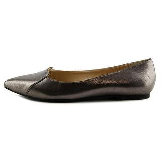 Callisto Womens Justine Pointed Toe Slide Flats