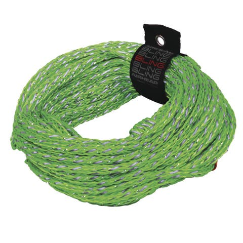 Airhead bling 2 rider tube rope 60'