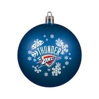 Oklahoma City Thunder Ornament - Shatterproof Ball