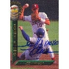 Jed Hansen Kansas City Royals 1994 Signature Rookies Autographed Card  Rookie Card  This item comes