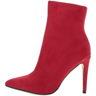 Chinese Laundry Womens Sparrow Suede Pointed Toe Ankle Fashion Boots
