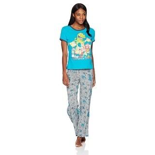 Nickelodeon 90's Rewind The Crew Women's 2-Piece Pajama Set