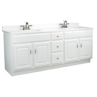 "Design House 541086 Concord 72"" Wood Vanity Cabinet Only"