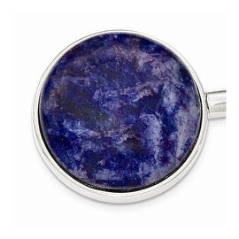 Silvertone Sodalite Purse Holder