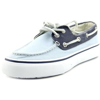 Sperry Top Sider Bahama 2-Eye LT Moc Toe Canvas Boat Shoe