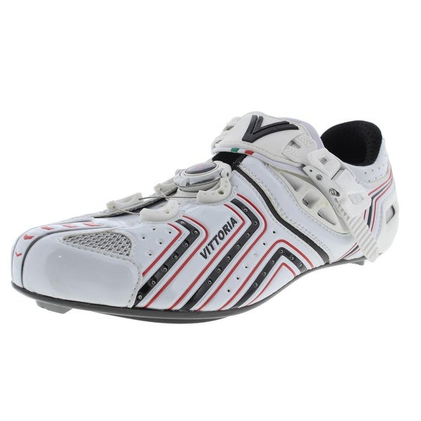 Vittoria Mens Hora Cycling Shoes Colorblock Ratchet Closure