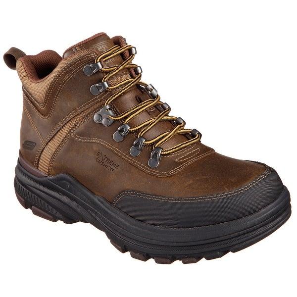 Shop Skechers 64786 Dkbr Men S Holdren Brenton Boot Free