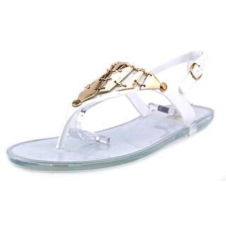 Fahrenheit Kay-04 Women Open Toe Synthetic White Flip Flop Sandal