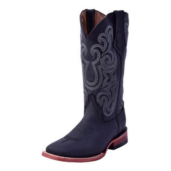 Ferrini Western Boots Womens Maverick Square Toe Block Pull Tabs
