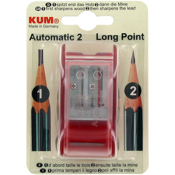 Kum (R) Automatic Long-Point Pencil Shapener-