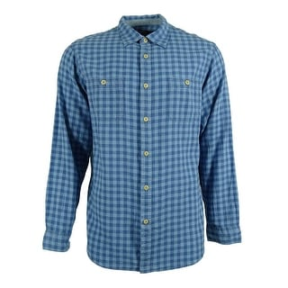 Cremieux Collection Men's Plaid Double Chest Pocket Shirt - L