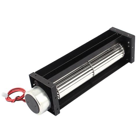 Unique Bargains DC 12V 0.18A Cross Flow Cooling Fan Heat Exchanger Amplifier Cool Turbo