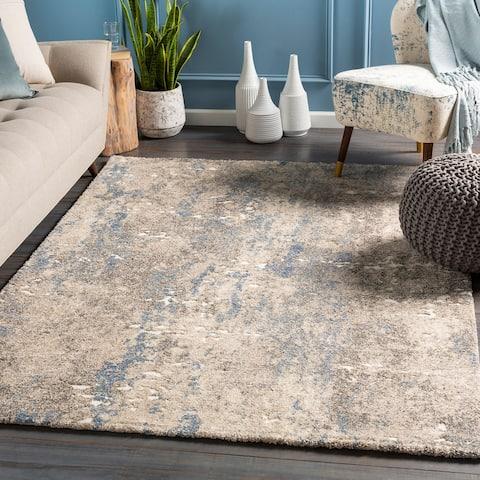 Porch & Den McLain Plush Abstract Area Rug