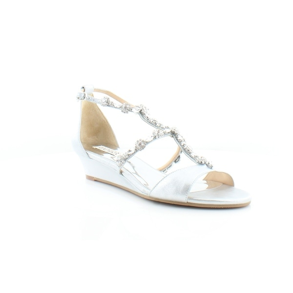 Badgley Mischka Terry II Women's Sandals & Flip Flops Silmed - 10