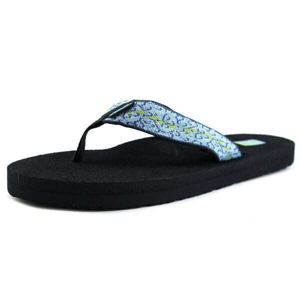 Teva Mush II Thong Sandal(Infants/Toddlers') -Willy Blue Textile Low Shipping Fee 7uFww