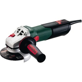 Metabo W9-115Q Angle Grinder with Lock-On Sliding Switch, 8.5 Amp