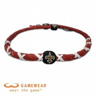 Gamewear 844214025592 New Orleans Saints Classic Spiral Necklace- NFL