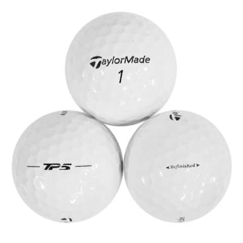 36pk Taylormade TP5 Refinished Golf Balls - 1.68 inches