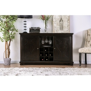 Link to Gracewood Hollow Durgaram Transitional 60-inch Espresso Server Similar Items in Dining Room & Bar Furniture