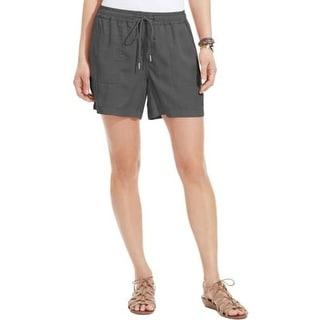 Calvin Klein Jeans Womens Juniors Casual Shorts Knit Elastic Waist