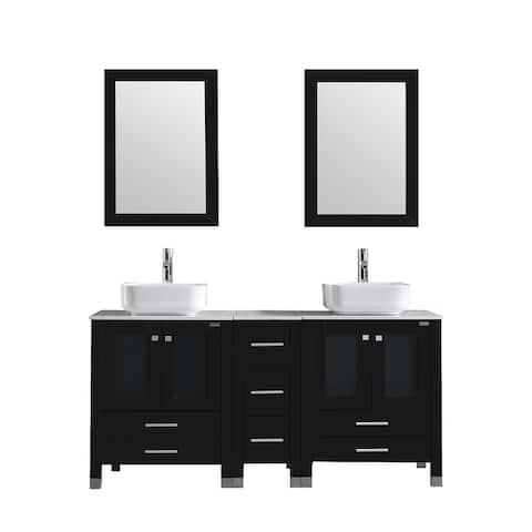 60.1Double Bathroom Vanity Set with mirror