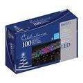 Celebrations 40812-71 LED Icicle Lights Set, 5.5', 100 Multi-Color Lights - Thumbnail 0