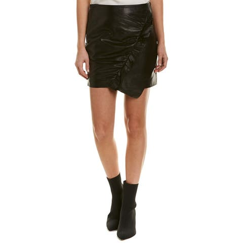 Iro Caral Leather Skirt