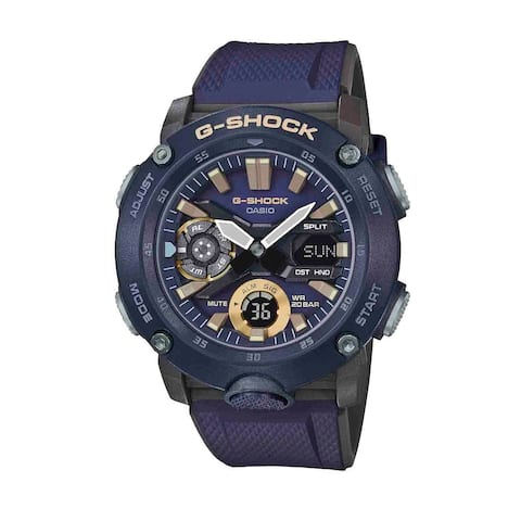 Men's Casio G-Shock Classic Interchangeable Blue Strap Watch with Black Dial - N/A