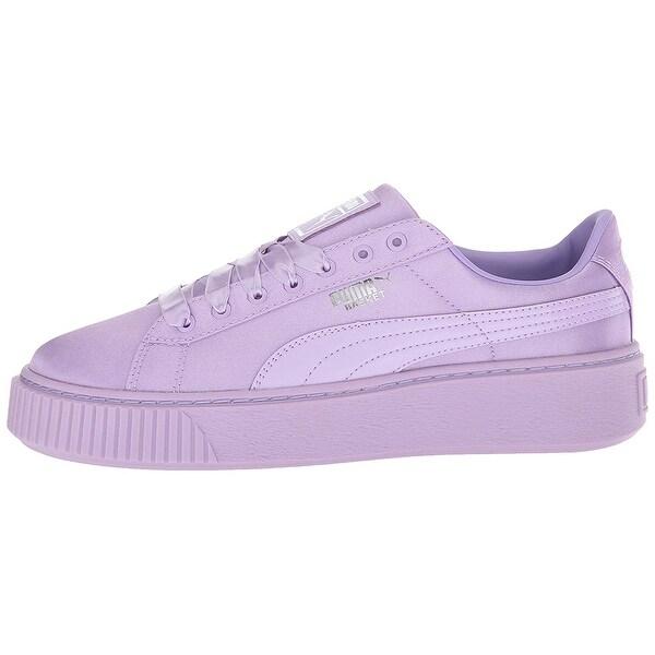 c04ca3740bb9 Shop Kids PUMA Girls basket Low Top Lace Up Fashion Sneaker - Free ...
