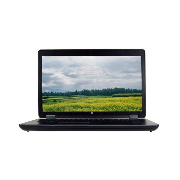 """HP ZBook 17 G2 Intel Core i7-4710MQ 2.5GHz 16GB RAM 1TB HDD DVD-RW 17.3"""" Full HD Win 10 Pro Workstation (Refurbished)"""