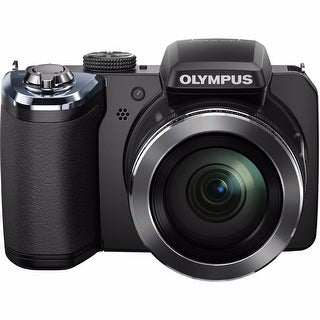 Olympus SP-820UZ iHS 14MP Black Digital Camera