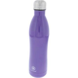 Gaiam Water Bottle Insulated BPA Free - Grape - 17 oz.