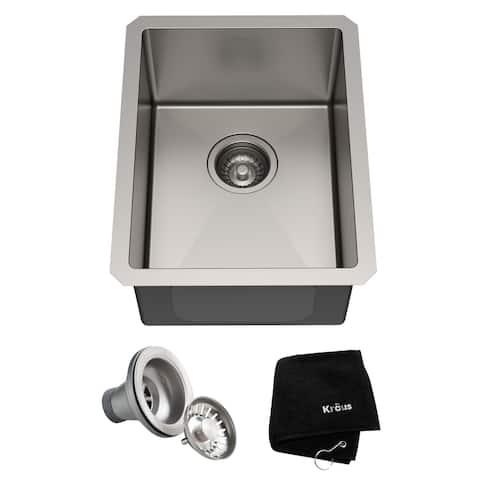 KRAUS Standart PRO Stainless Steel Undermount Kitchen Sink