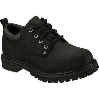 Shop Skechers Men S Alley Cats Black Scuff Resistant