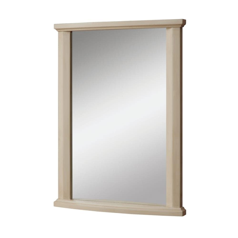 Decolav 9865 Des Distressed Wood Frame Mirror Home Decor