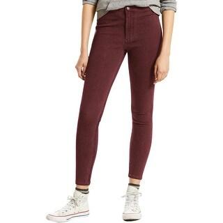 Levi's Womens Runaround Colored Skinny Jeans 4-Way Stretch Super - XL