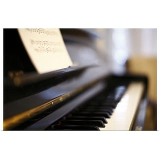 """""""Piano with blur"""" Poster Print"""