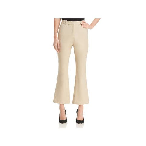 Donna Karan Womens Dress Pants Ankle Flared