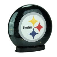 Pittsburgh Steelers Indoor LED Glass Globe Accent Lamp - DARK GREEN