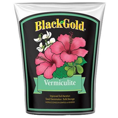 Black Gold 1490202.Q08P Vermiculite Soil, 8 Qt