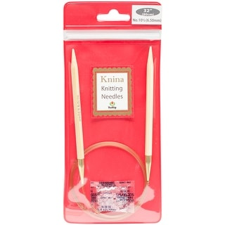 "Tulip Knina Knitting Needles 32""-Size 10.5/6.5mm"