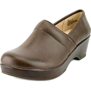JBU by Jambu Cordoba Round Toe Leather Clogs