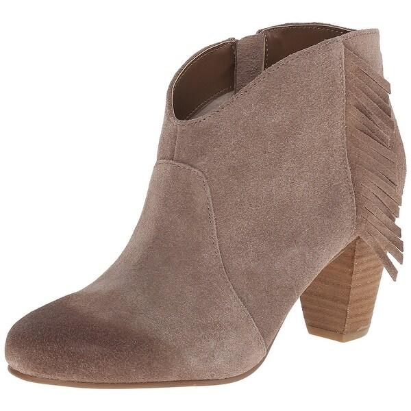 Tahari Womens Camila Leather Closed Toe Ankle Fashion Boots