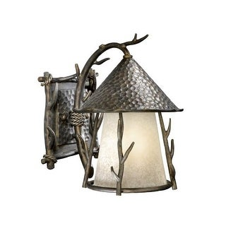Vaxcel Lighting WD-OWD090 Woodland 1 Light Outdoor Wall Sconce - 9.5 Inches Wide