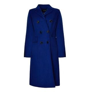 T. Tahari Wool-Blend Coat