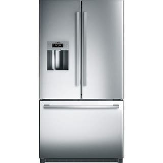 Bosch B26FT80SN 36 Inch Wide 25.9 Cu. Ft. French Door Refrigerator with Quick Ice from the 800 Collection - Stainless Steel