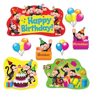 Monkey Mischief Birthday Bb Set